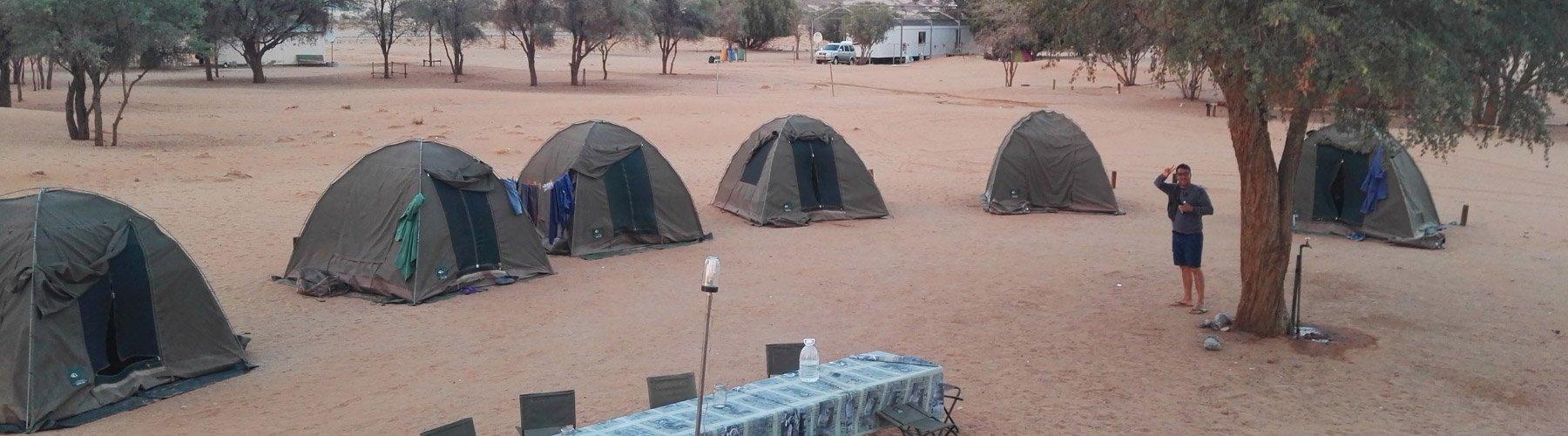 Viaggi in camping in Africa: informazioni e idee di viaggio.